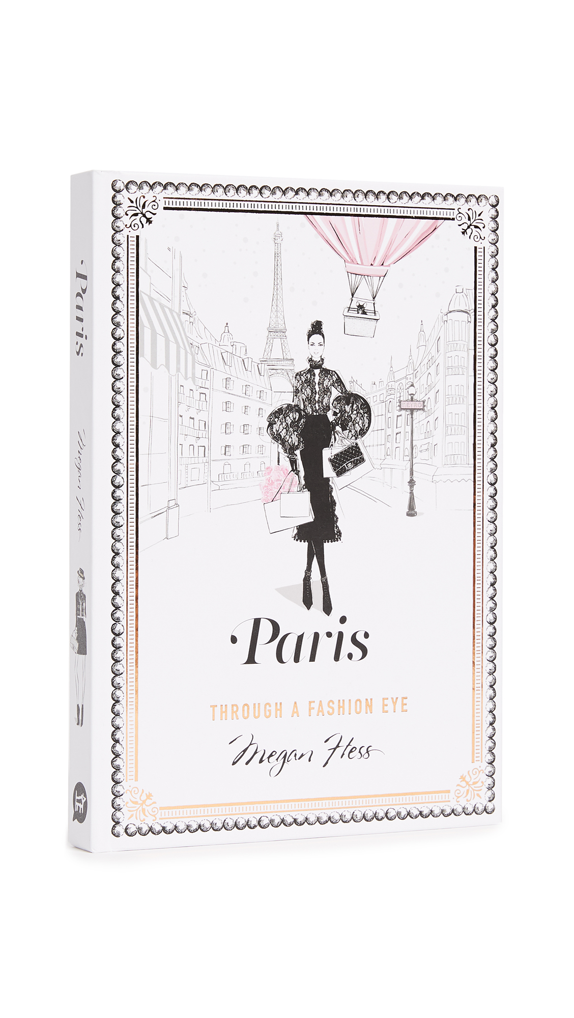 Paris is an illustrated guide to one of the world's best-loved fashion cities by one of the world's most successful fashion illustrators. In the second of her series of books on classic fashion destinations, Megan Hess takes you on a stylish adventure through the French capital, showing you the best places for a fashionista to eat, sleep, shop and play-all illustrated in her inimitable, elegant style. Imported, China. By Megan Hess. Hardcover. 208 pages. Imprint: Hardie Grant. ISBN: 978-1743792476 Measurements Width: 1in / 2.25cm Height: 9in / 23cm Length: 6in / 15.5cm