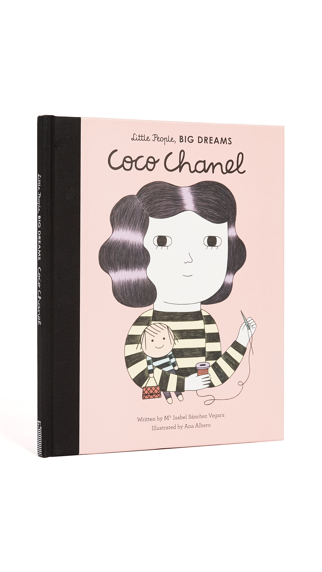 For ages 4-8 years. Part of a children's series, this sweet volume tells the story of Coco Chanel. The story starts with her early years in an orphanage where she is a genius with needle and thread, and moves through her life as a cabaret singer, hatmaker, and, eventually, international fashion designer. Finished with Ana Albero's distinctive illustrations throughout (as well as extra facts about Coco's life in the back of the book)! Imported, China. By Maria Isabel Sánchez Vegara. Hardcover. 32 pages. Imprint: Frances Lincoln Children's Books. ISBN: 978-1847807847 Measurements Width: 8in / 20.5cm Height: 10in / 25.5cm