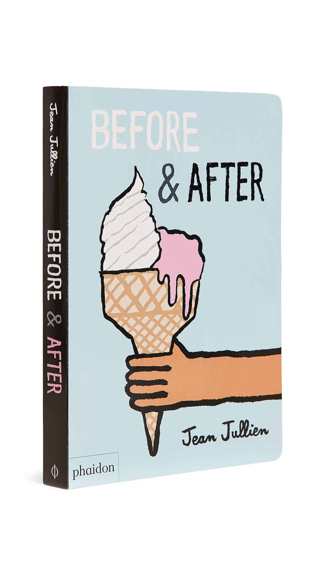 Board book Imported, China By Jean Jullien Hardcover 40 pages Imprint: Phaidon Press Limited ISBN: 9780714874081 Measurements Width: 1in / 2.5cm Height: 9in / 23cm Length: 6.5in / 16.5cm