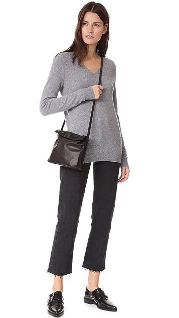 Bop Basics V Neck Cashmere Sweater