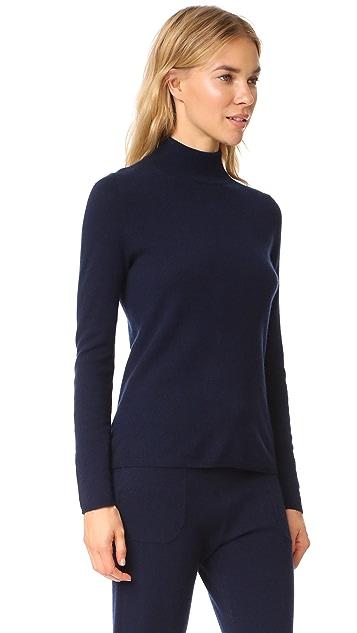 Bop Basics Кашемировый свитер с воротником под горло