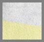 светло-серый меланж/лимонный