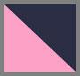 темно-синий/ярко-розовый