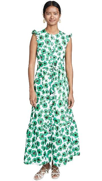 Borgo de Nor Gabriella Leopard Floral Dress