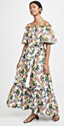 Borgo de Nor Mona Off The Shoulder Maxi Floral Dress
