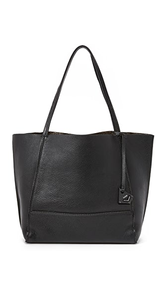 Botkier Soho Tote with Gunmetal Hardware - Black