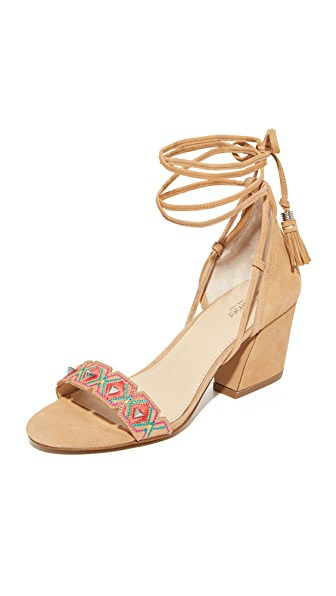 Botkier Penelope City Sandals - Natural/Multi Combo