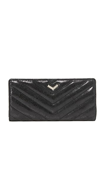 Botkier Quilted Soho Snap Bifold Wallet