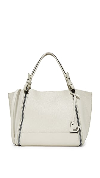 Botkier Soho East / West Big Zip Tote In Dove