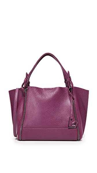 Botkier Soho East / West Big Zip Tote - Raspberry