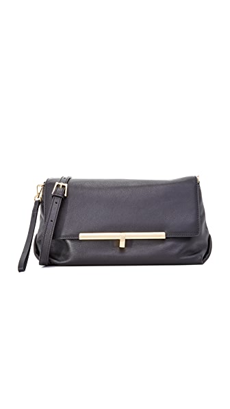 Botkier Saddie Cross Body Bag - Black