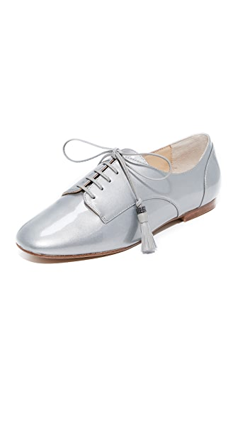 Botkier Caia Oxfords In Pearlized Grey