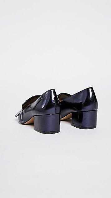 Botkier Olive Heeled Loafers