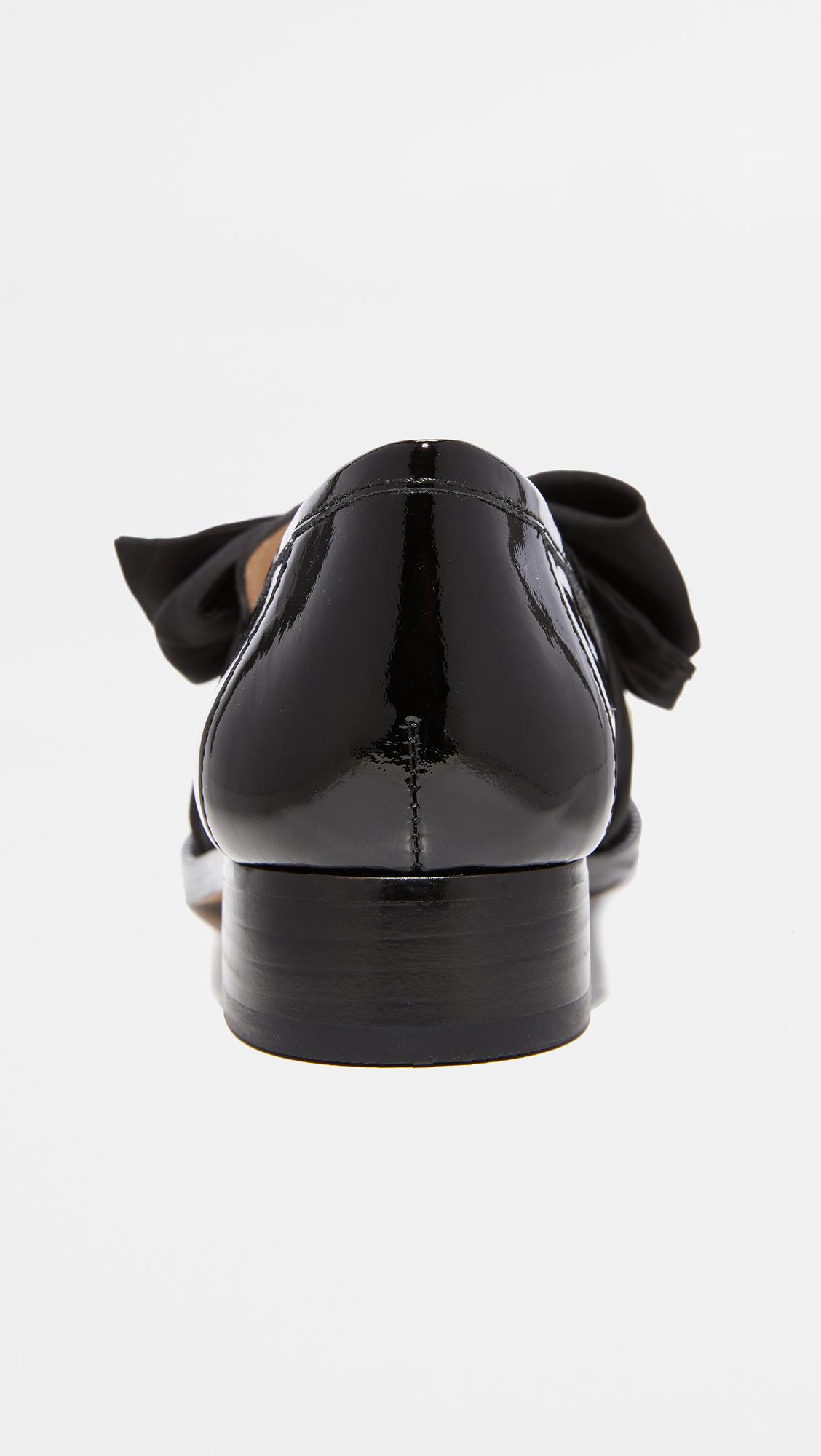 bae8de4ba7d Botkier Violet Bow Loafers