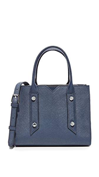 Botkier Murray Hill Cross Body Bag - Sapphire
