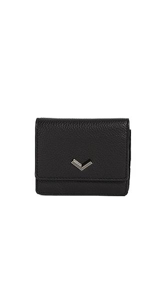 Botkier Soho Mini Wallet In Black