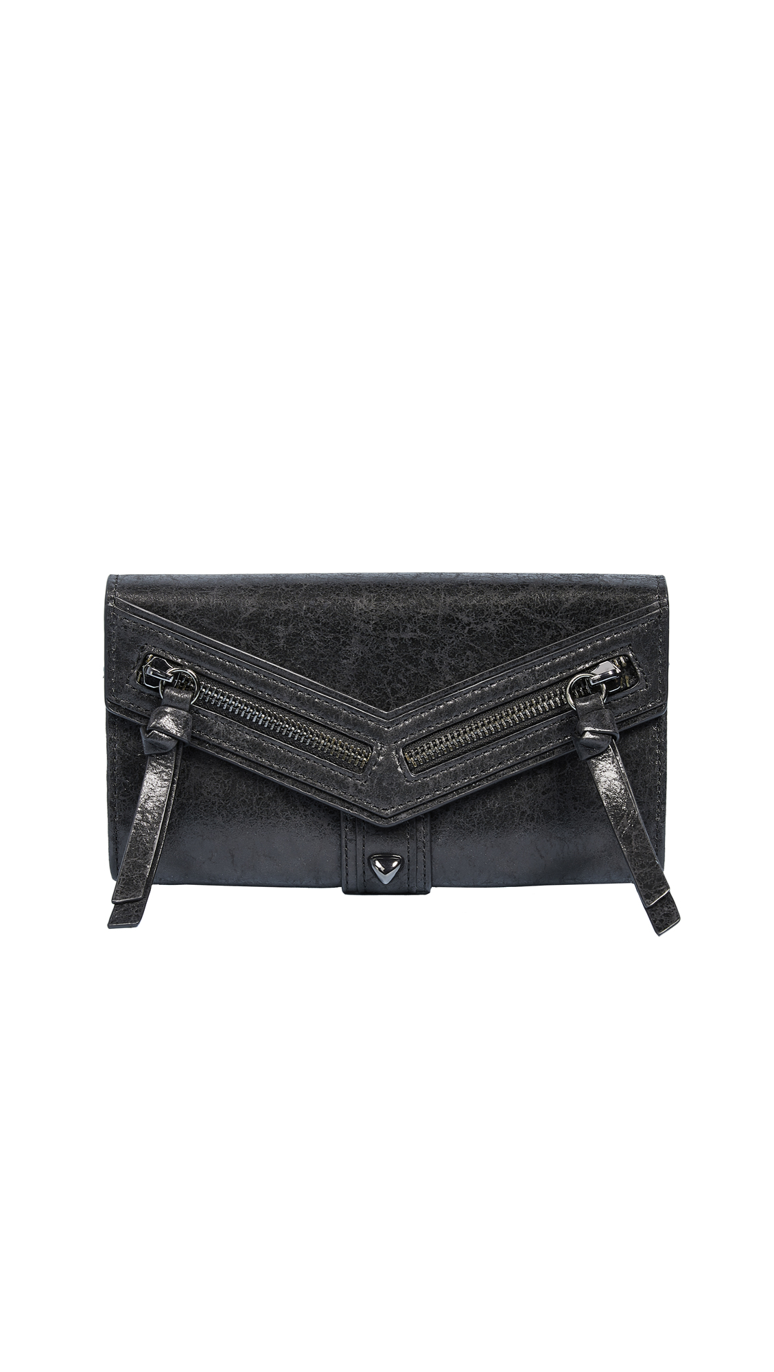Botkier Trigger Flap Wallet - Black