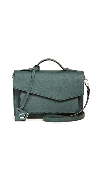 Botkier Cobble Hill Cross Body Bag In Emerald