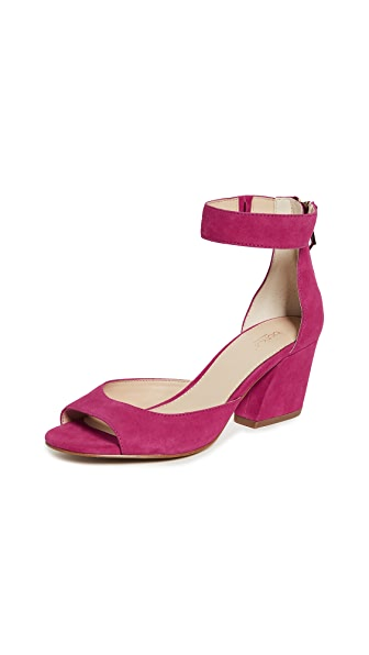 Botkier Pilar Ankle Strap Sandals In Charged Pink