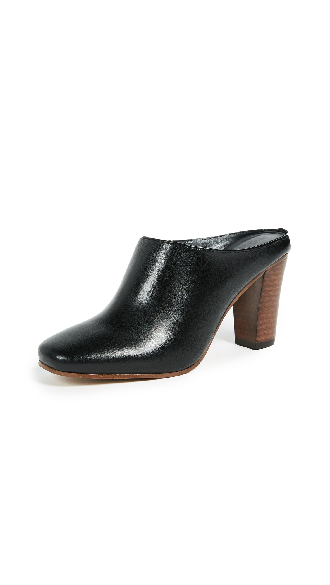 Botkier Sherri Block Heel Mules - Black