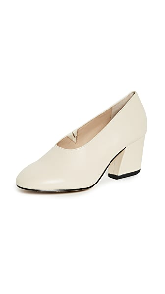 HAVEN BLOCK HEEL PUMPS