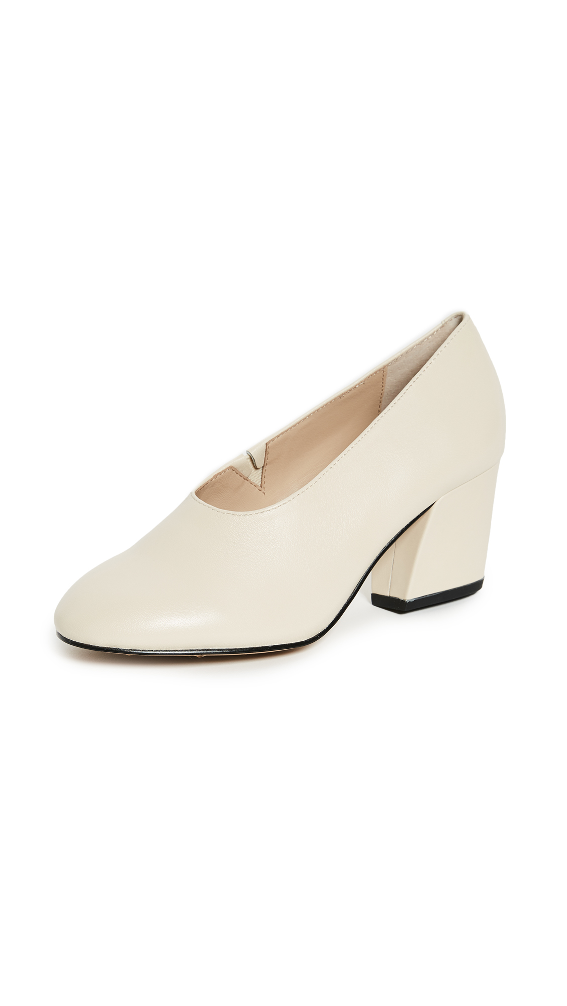 Botkier Haven Block Heel Pumps - Cream