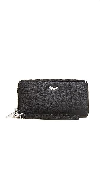 Botkier Soho Zip Wallet In Black