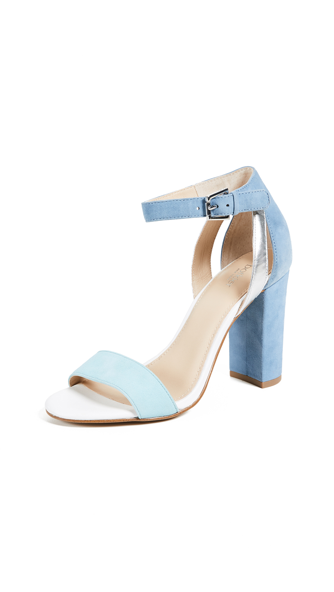 Botkier Gianna Block Heel Sandals - Sky