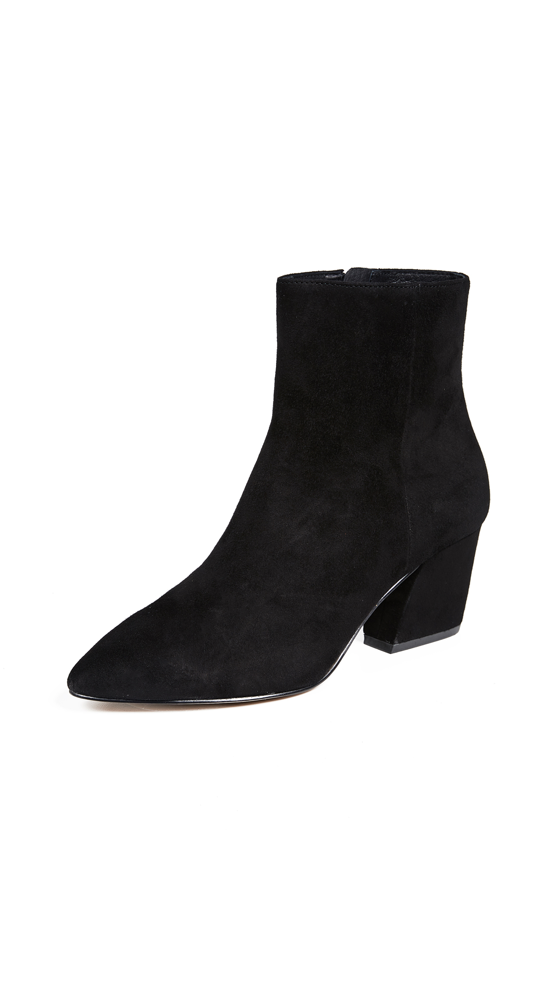 Botkier Sasha Point Toe Booties - Black