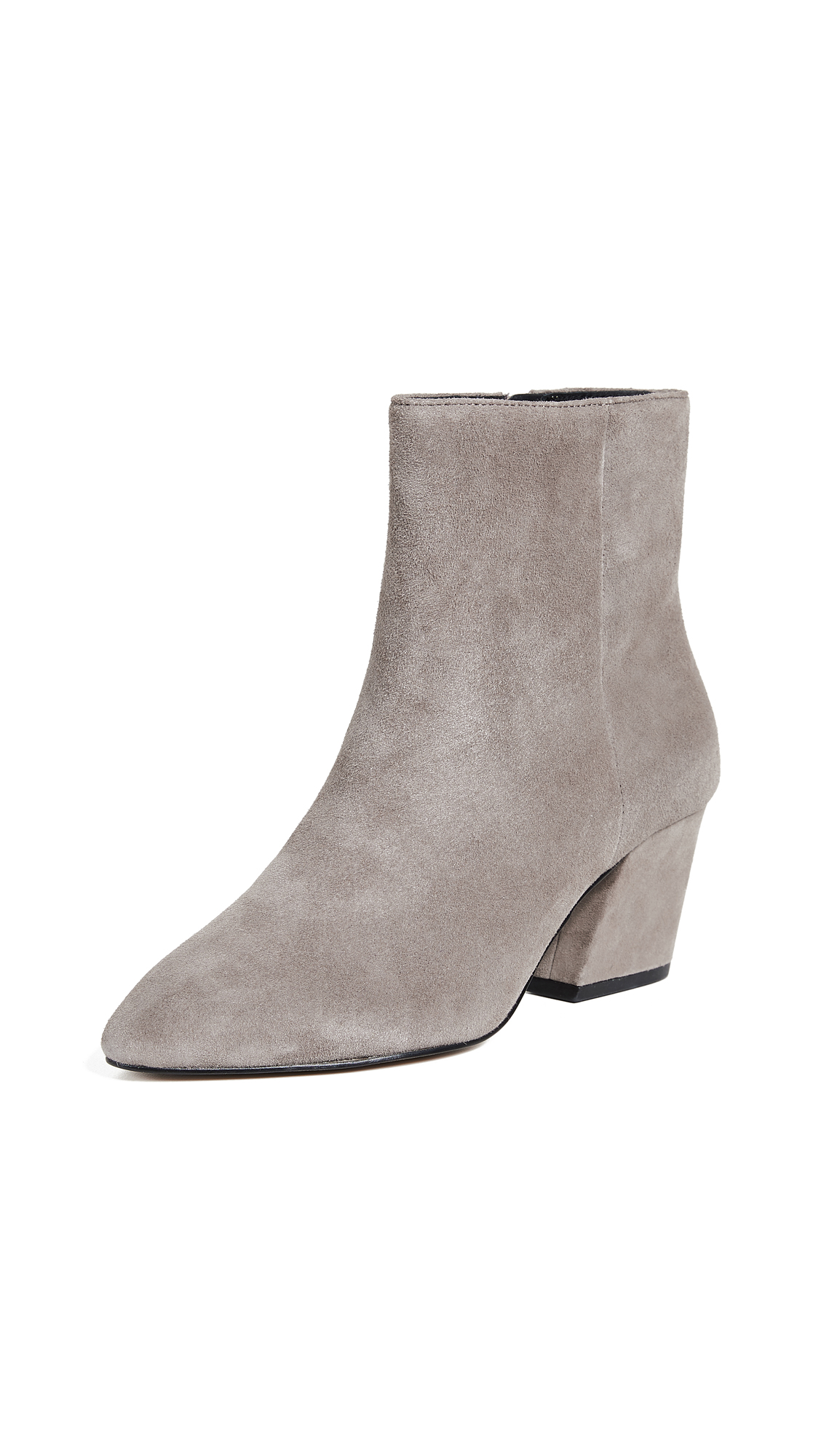 Botkier Sasha Point Toe Booties - Winter Grey