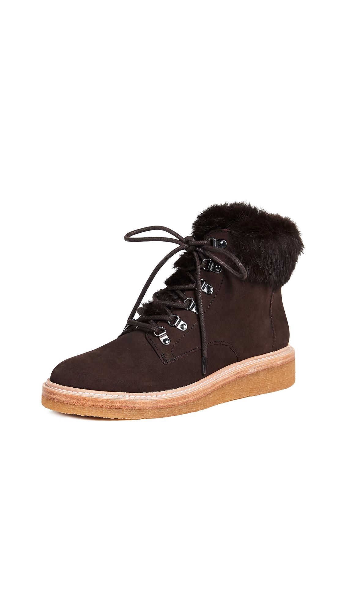 Botkier Winter Combat Boots - Mocha