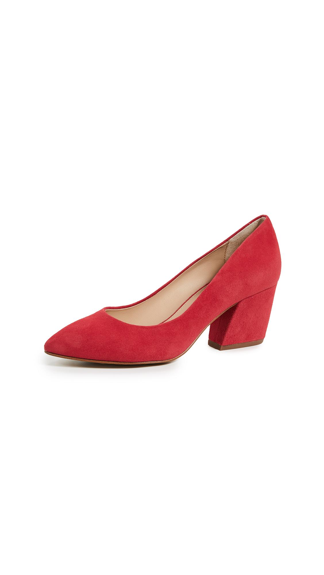 Botkier Stella Block Heel Pumps - Red Carpet
