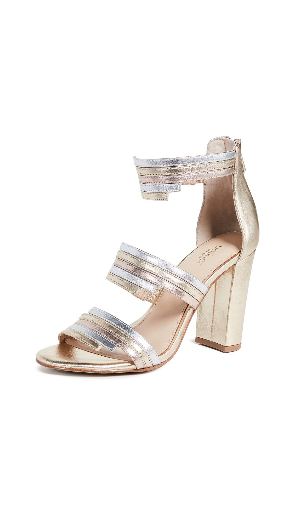 Botkier Grecia Sandals - Ivory Multi