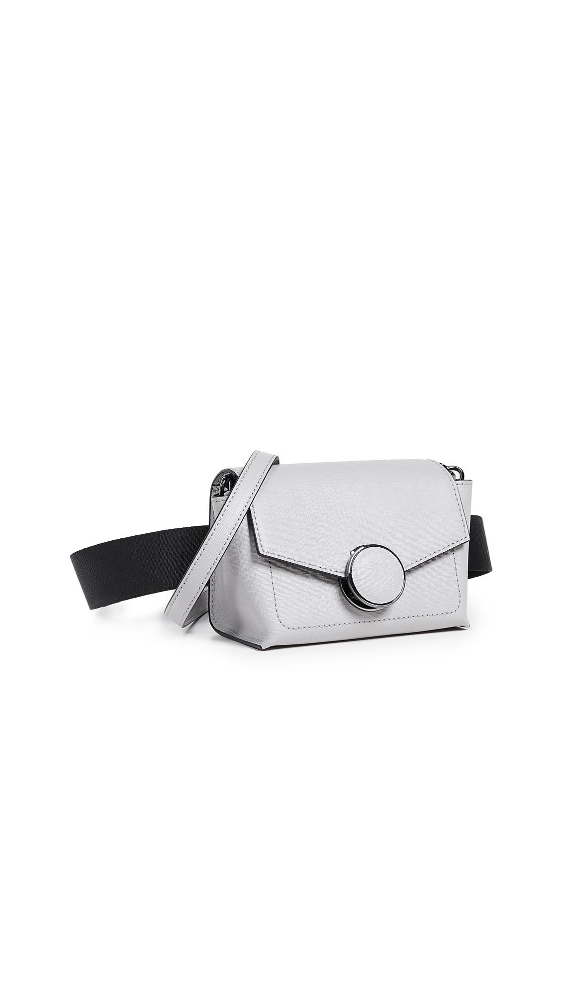 Nolita Belt Bag in Silver Grey