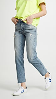 Boyish The Tommy High Rise Rigid Straight Jeans