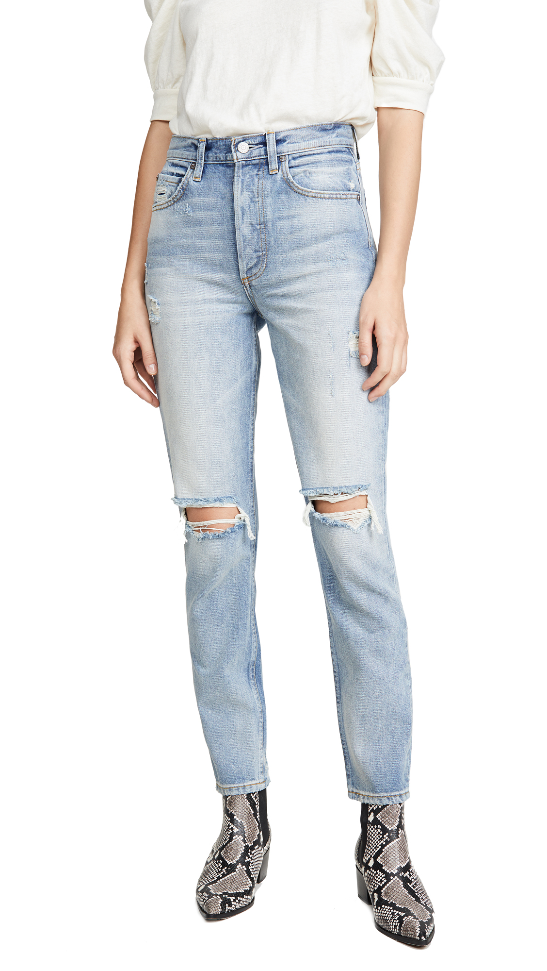 Buy Boyish online - photo of Boyish The Billy High-Rise Rigid Skinny Jeans