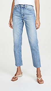 Boyish The Tommy High-Rise Rigid Straight Jeans