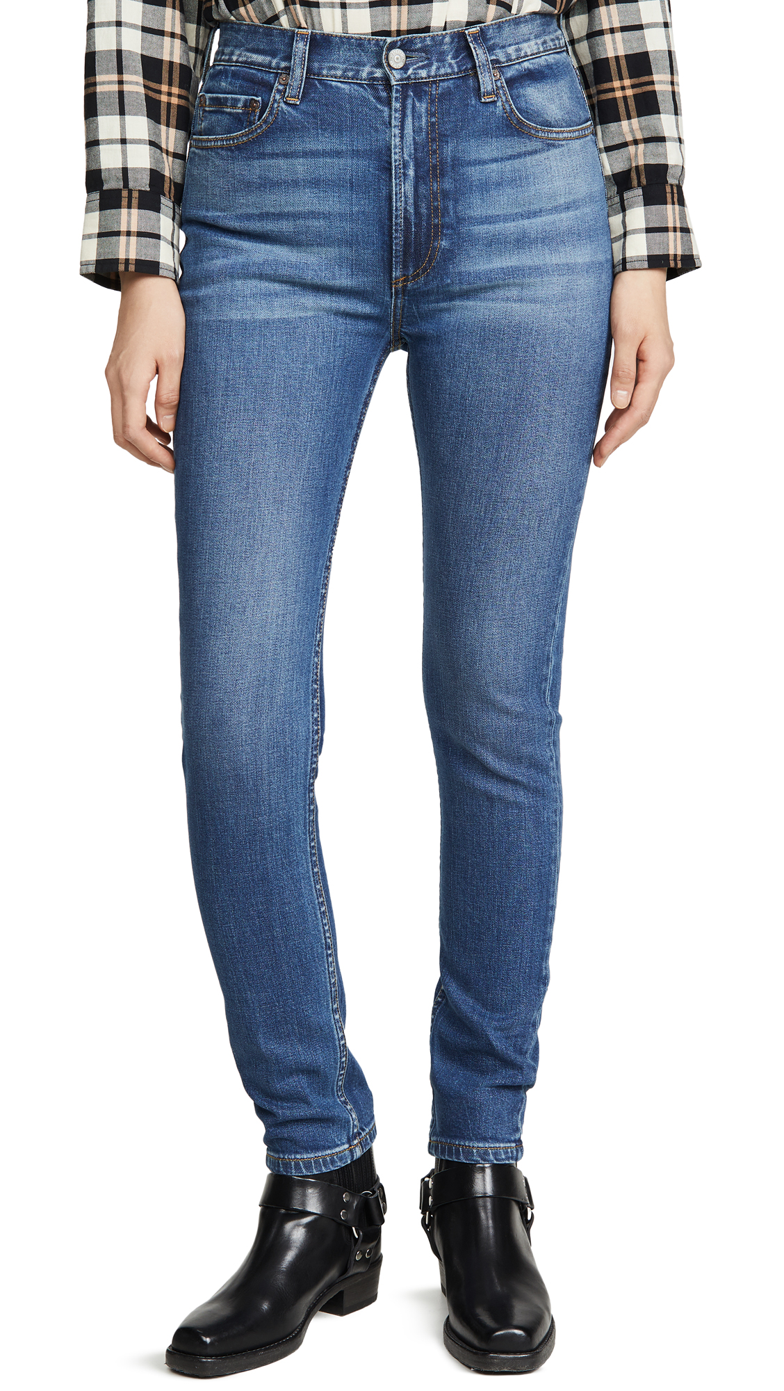 Buy Boyish online - photo of Boyish The Zachary High-Rise Comfort Stretch Skinny Jeans