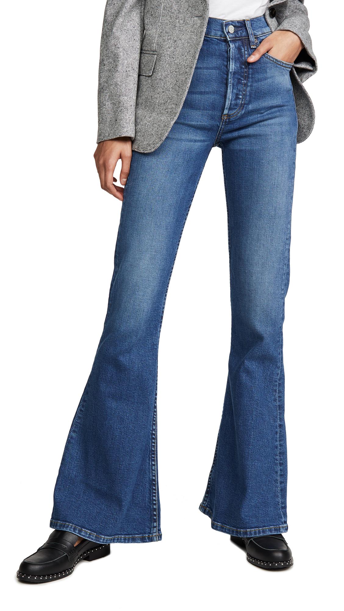 Buy Boyish online - photo of Boyish The Kingsley High Rise Comfort Stretch Flare Jeans