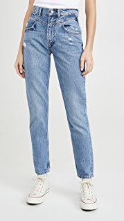 Boyish The Roy High-Rise Rigid Yoke Front Skinny Jeans