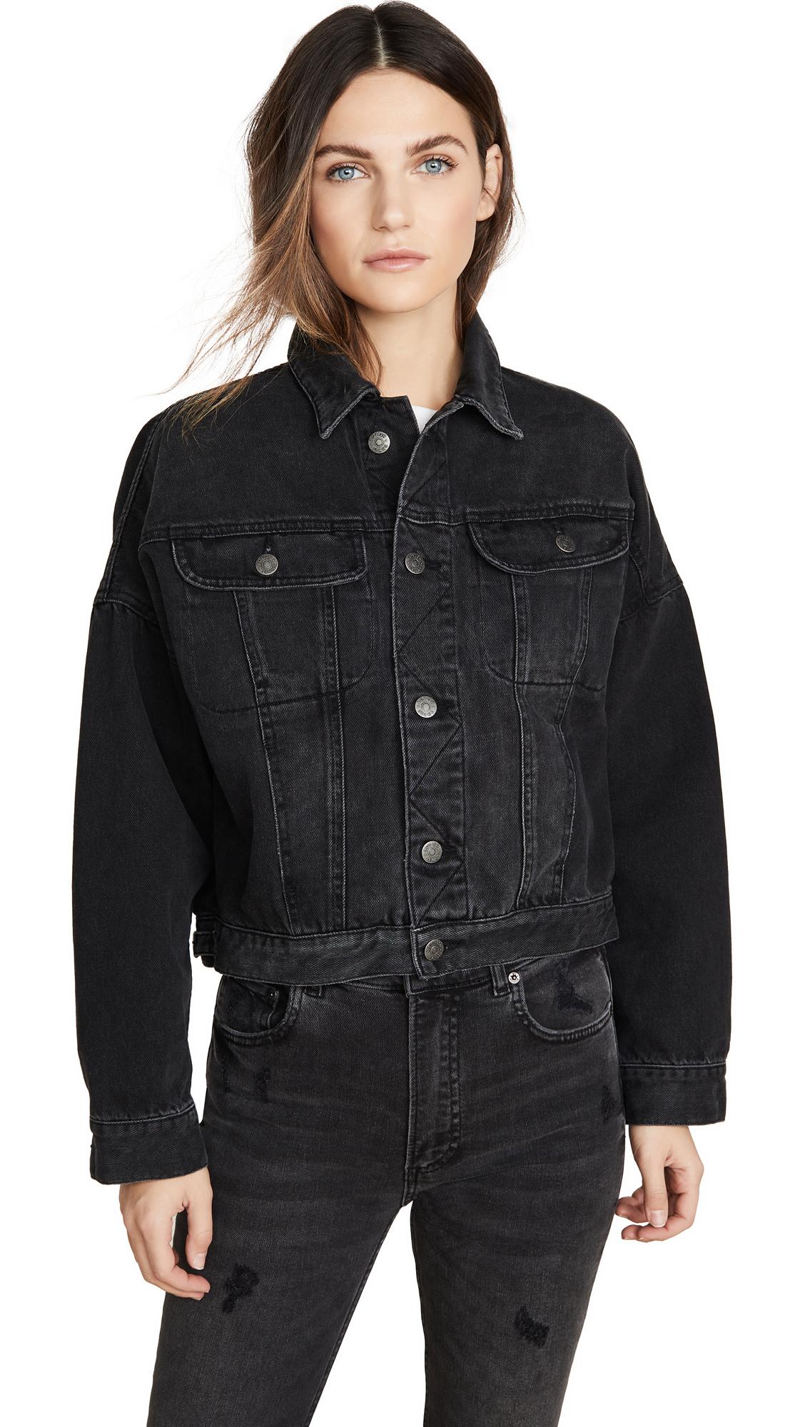 Buy Boyish online - photo of Boyish The Ryder Rigid Oversized Jacket