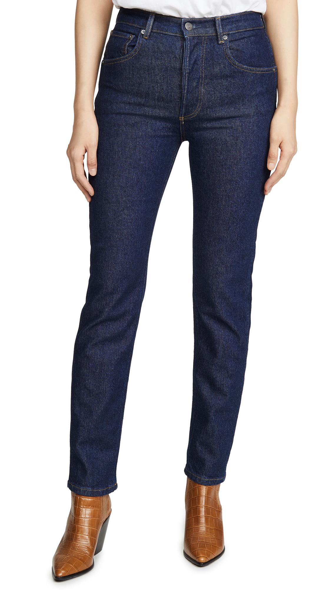 Buy Boyish online - photo of Boyish The Dempsey High-Rise Comfort Stretch Straight Leg Jeans