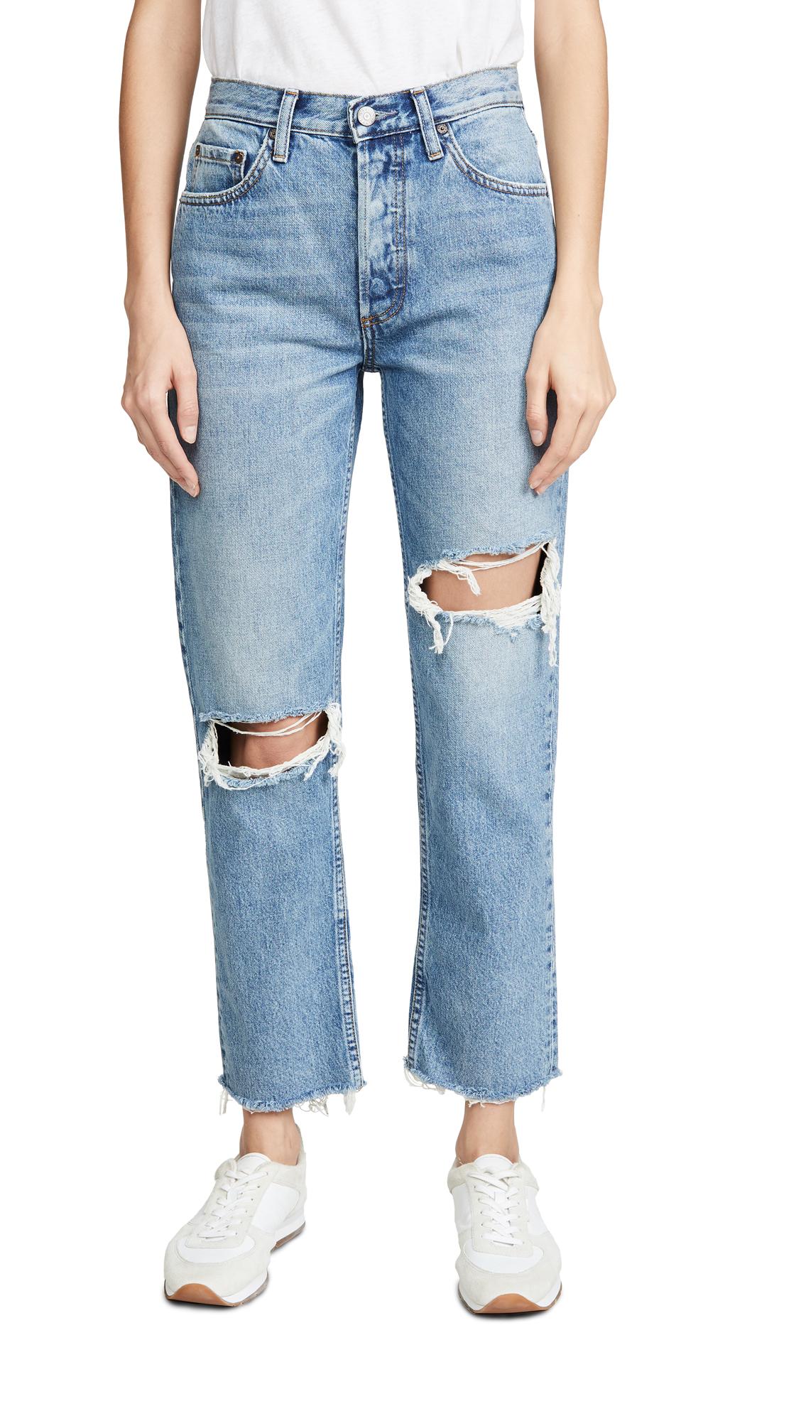 Buy Boyish online - photo of Boyish The Tommy High-Rise Rigid Straight Jeans