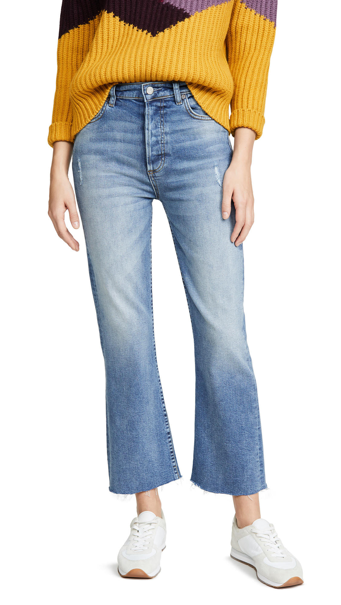 Buy Boyish online - photo of Boyish The Brady High Rise Crop Flare Jeans