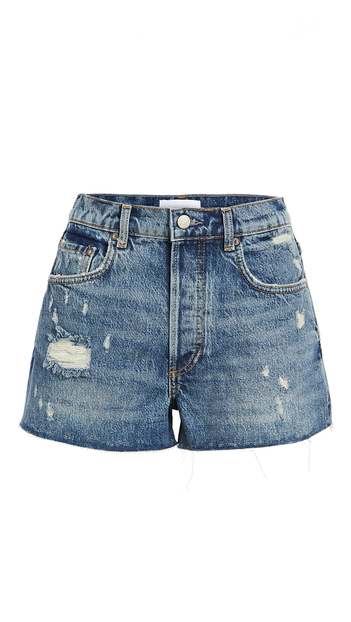 Boyish The Cody High Rise Rigid Cutoff Shorts