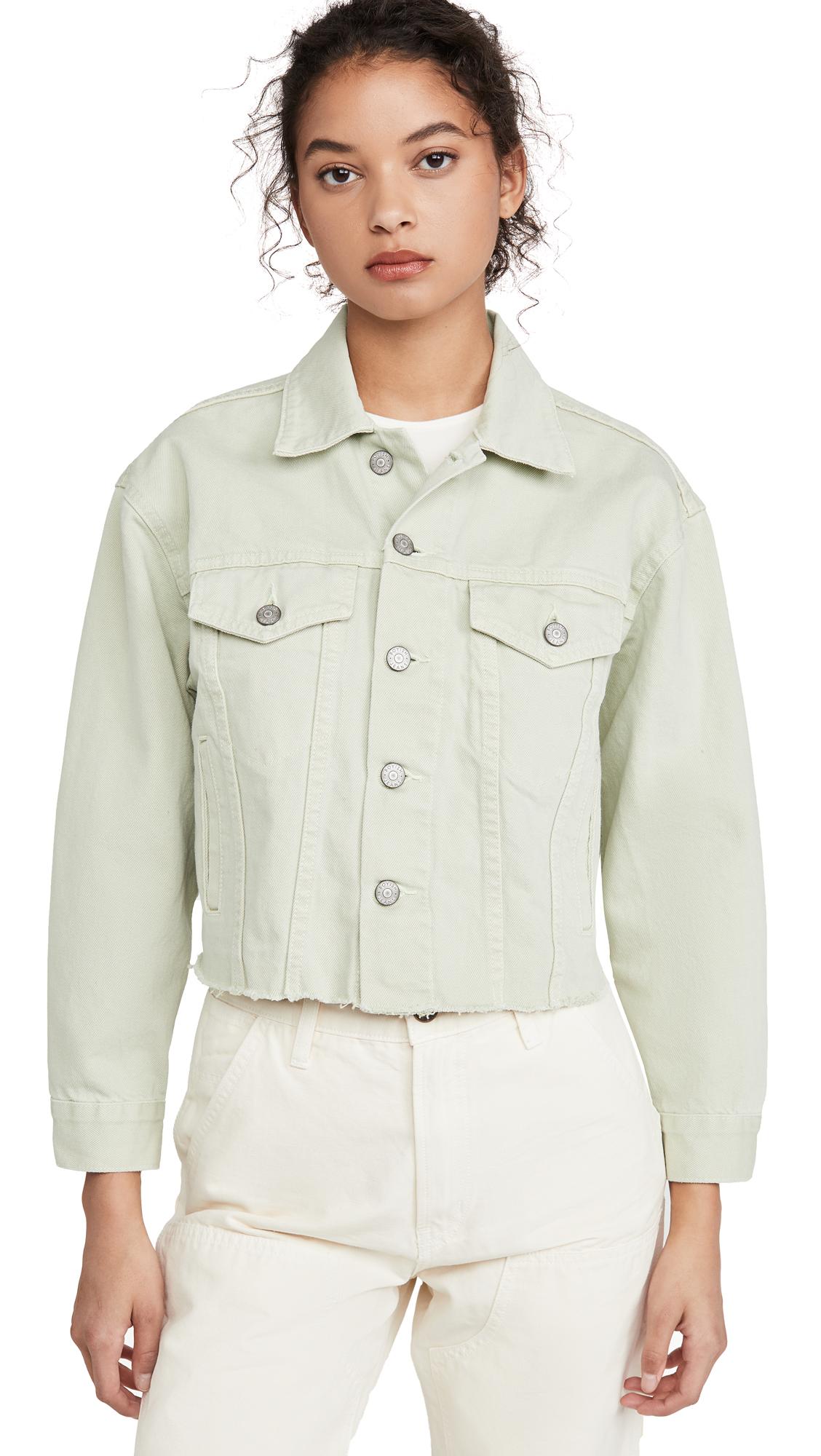 Buy Boyish The Harvey Rigid Cropped Oversized Jacket online beautiful Boyish Clothing, Jackets