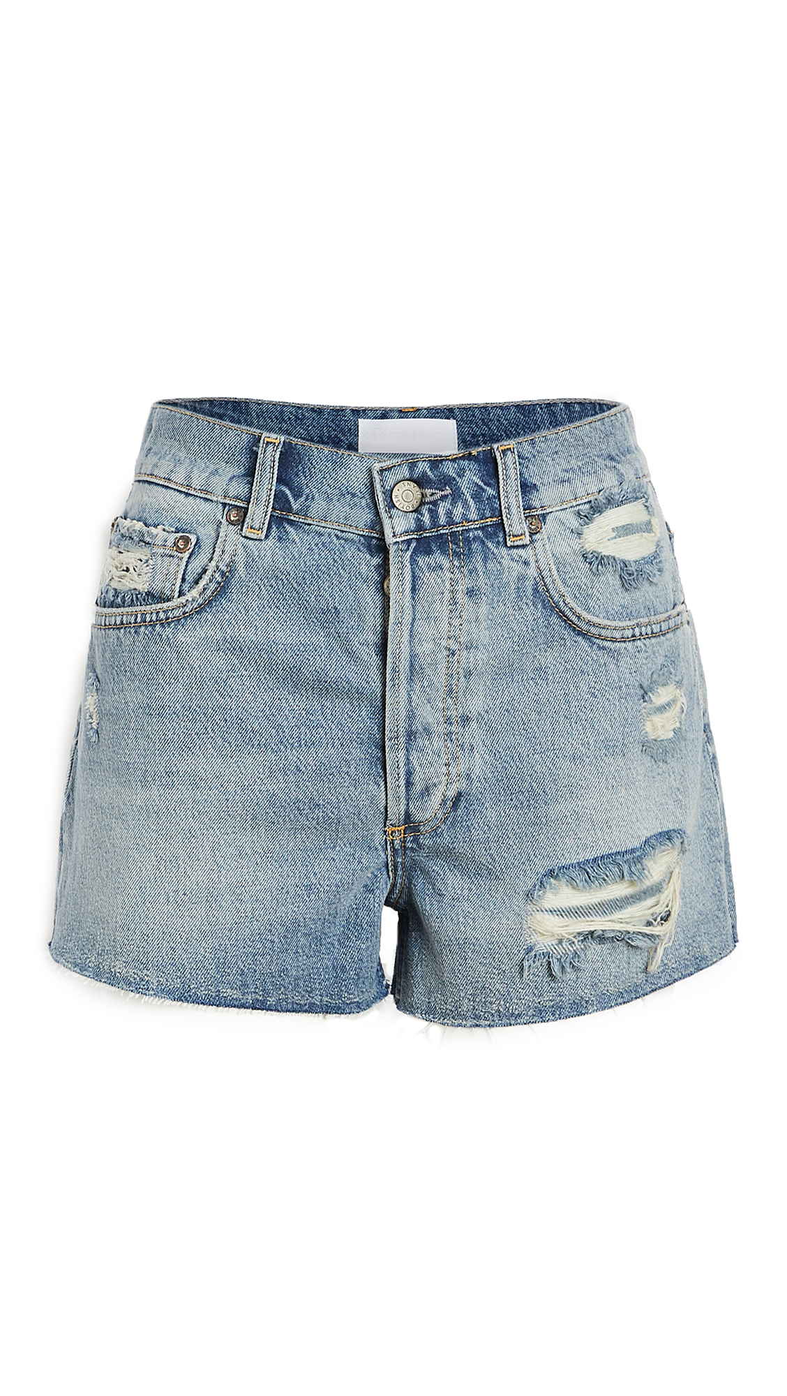 Boyish The Cody High Rise Rigid Cut Off Shorts
