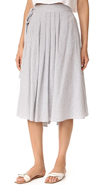 Birds of Paradis Wrap Skirt