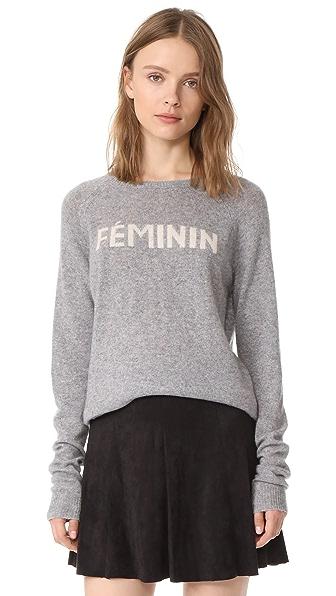 Birds of Paradis Cashmere Feminin Sweater