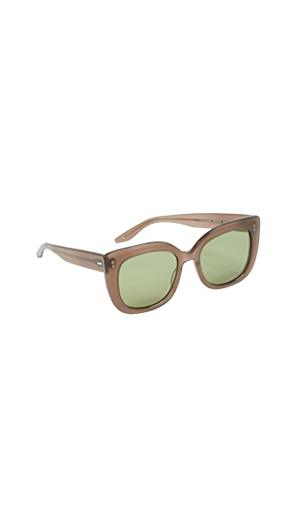Barton Perreira Olina Sunglasses In Mocha/Aegean